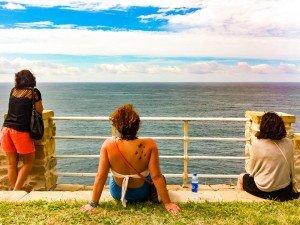 San Sebastian - Looking Out to Sea 2