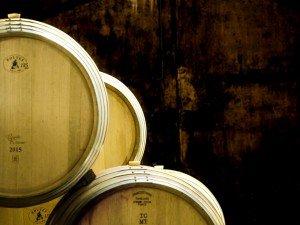 Wine Barrels in Stellenbosch