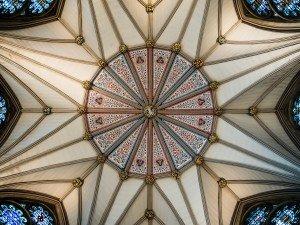 York Minster Chapterhouse Ceiling
