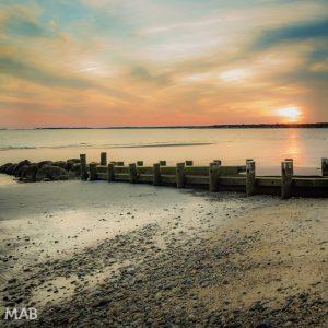A New England Beach Sunset