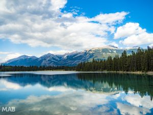 Mountains and Lakes in Jasper