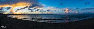 Cabarete Beach Sunset Panorama