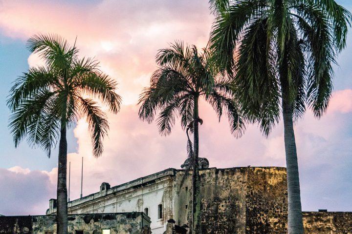 Sunset Over Castillo de San Cristóbal Puerto Rico