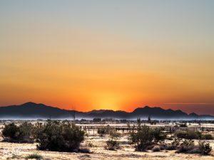 Sunset in Pahrump