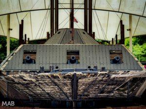 USS Cairo Ironclad Gunboat