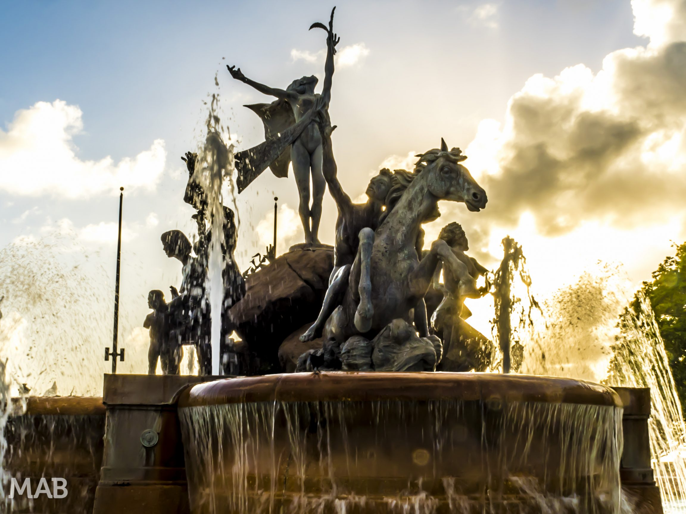The Raíces Fountain of Old San Juan