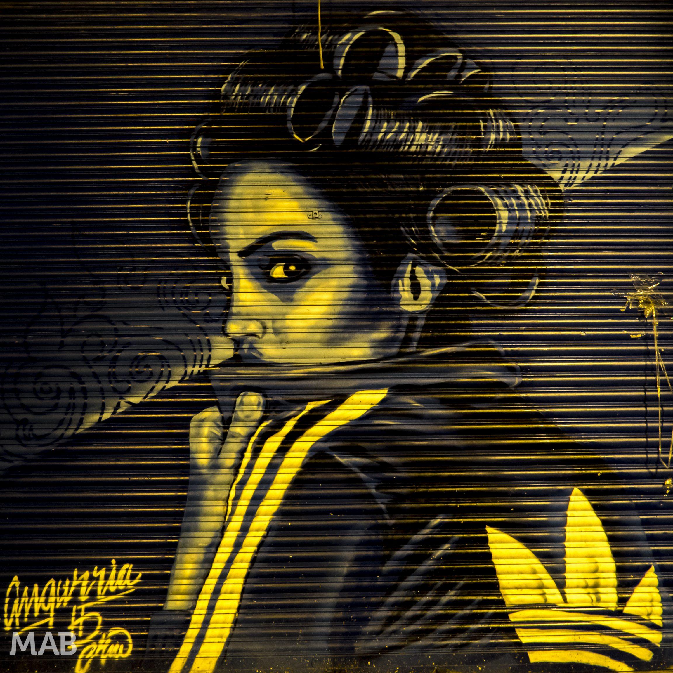 Santo Domingo Adidas Girl Street Art