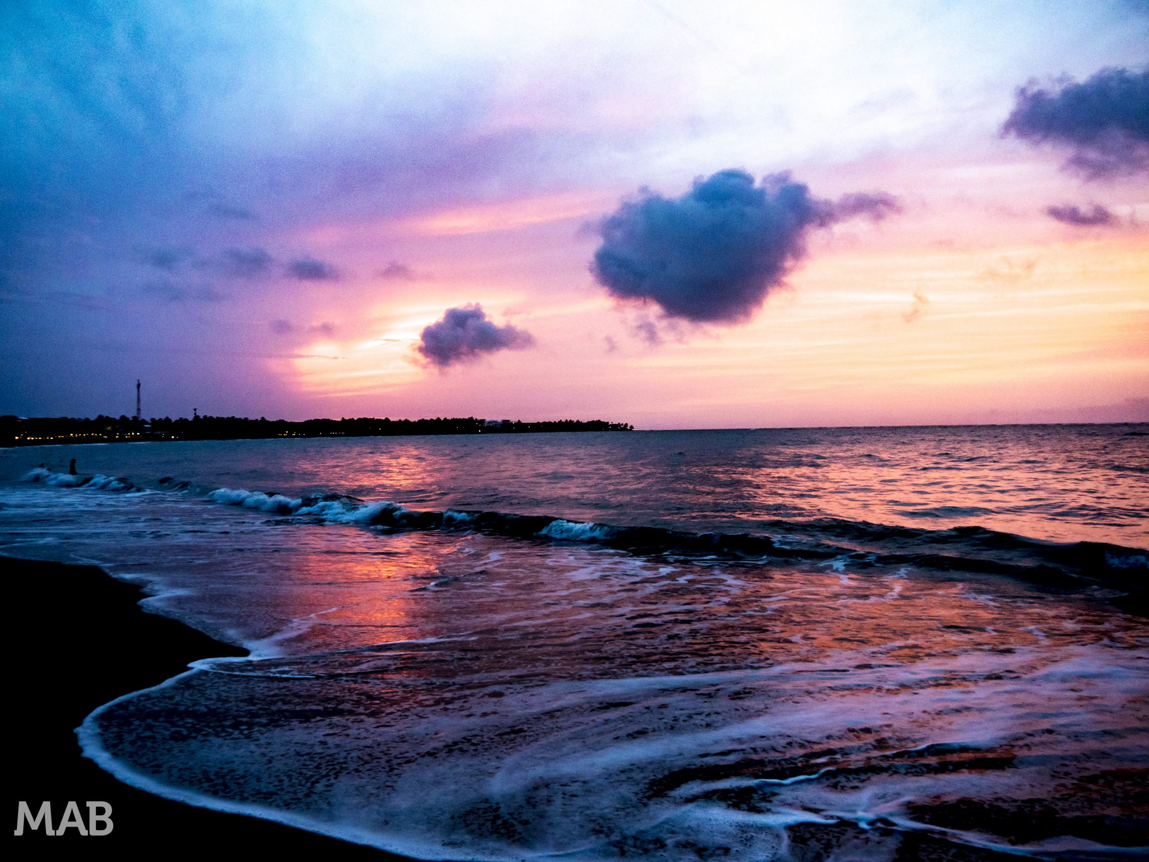 A Sunset Over Cabarete
