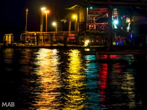 Lights on the Water in Bocas