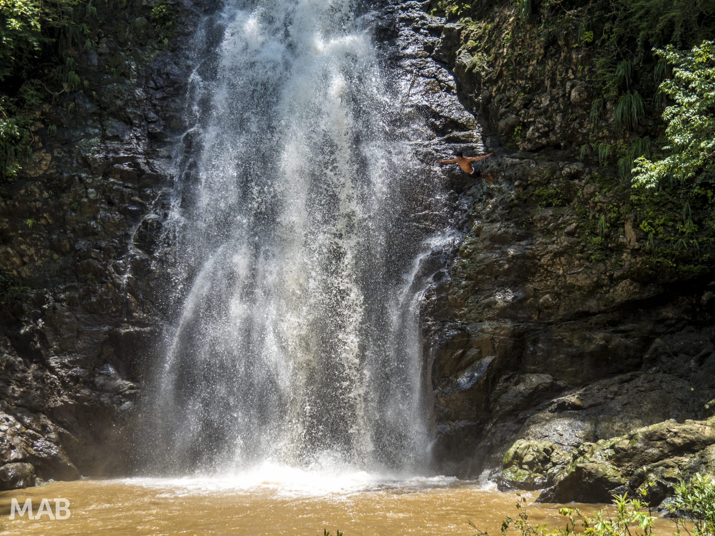 Montezuma Waterfall Diver