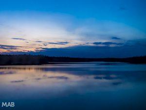 Ontario Lakes at Sunset