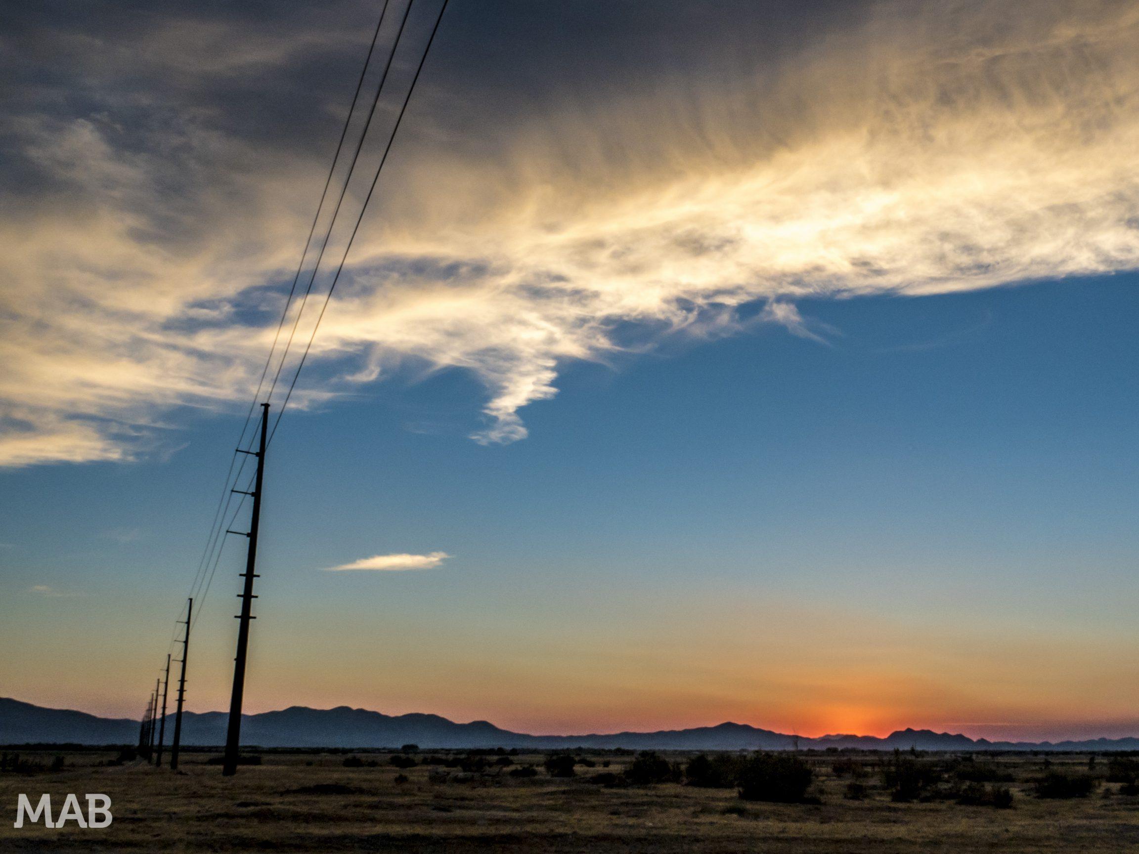 Sunset in Pahrump 2