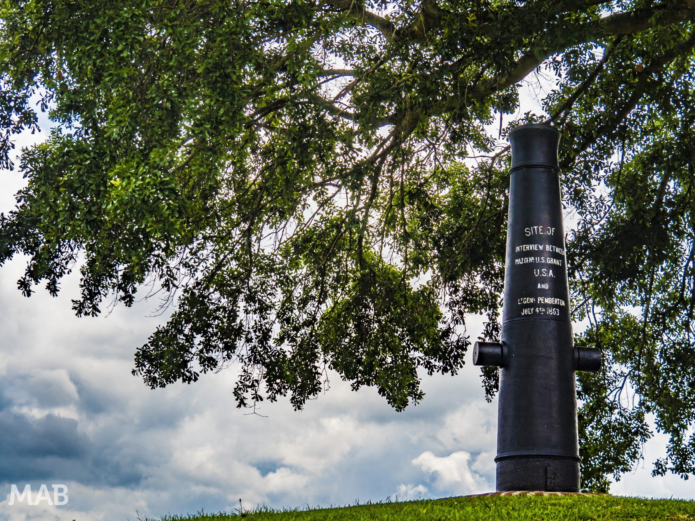 Vicksburg Surrender Monument